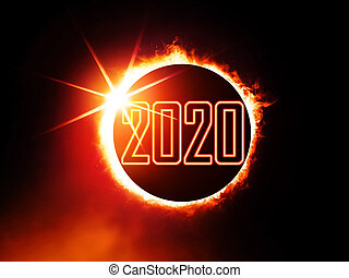sol, 2020, eclipse