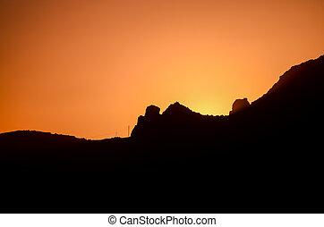 sol alaranjado, armando