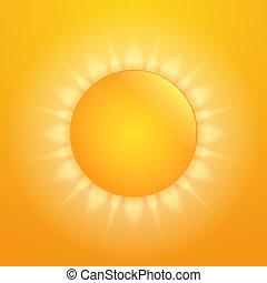 sol, caliente
