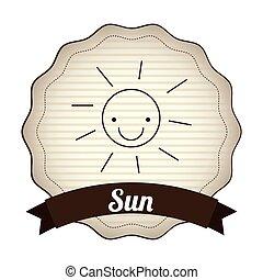sol, desenho