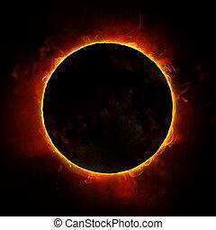 sol, eclipse