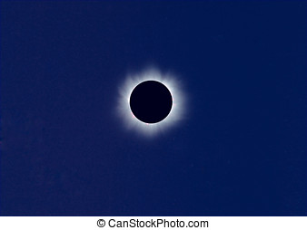 sol, eclipse total