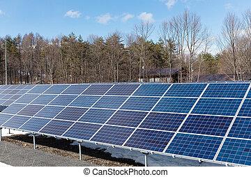 sol energi, kraftverk