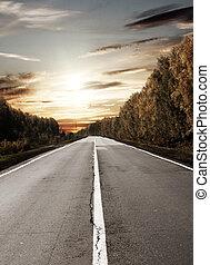 sol, estrada