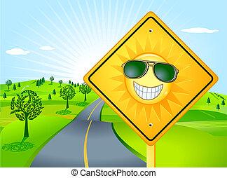 sol, felicidade