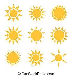 sol, iconerne, samling