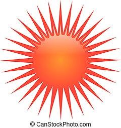 sol, logotipo