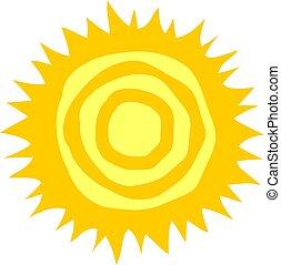 sol, projeto abstrato