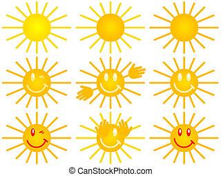 sol, símbolo