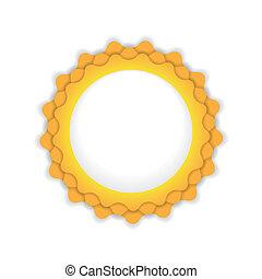 sol, símbolo, ilustração