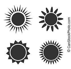 sol satte, iconerne