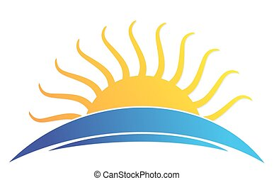 sol, sea., logotipo