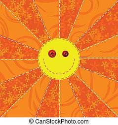 sol, tela