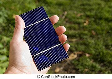 solaire, vert