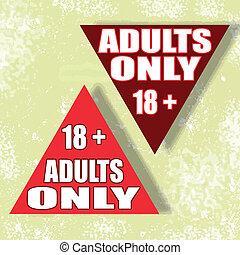 solamente adultos