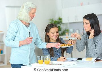 solamente mujeres, cocina