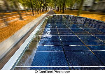 solar angetrieben, tuc, tuc
