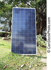 Solar cell for energy producttion
