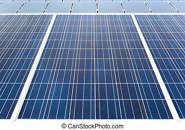 solar cell panel background