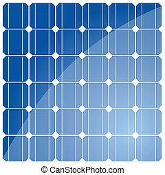 Solar cell pattern - Solar cell pattern