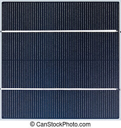 Solar Cell - Polycrystalline solar cell close-up