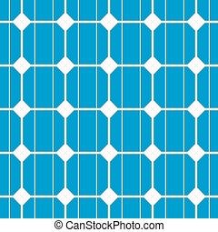 solar cell seamless