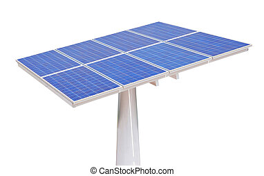 solar cells isolated
