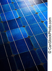 Solar cells pattern background texture - Pattern of solar...