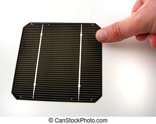 Solar cells - Pictures of portion of solar cells