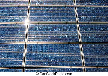 Solar cells - With solar cells can generate environmentally...