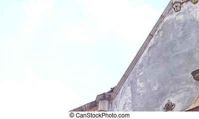 Solar Clock on Building