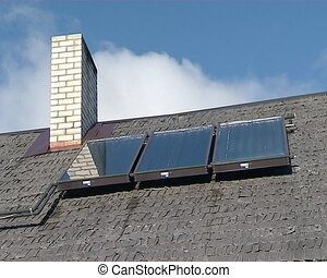 solar collectors house