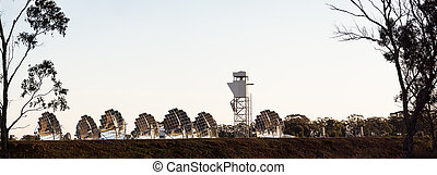solar dish array