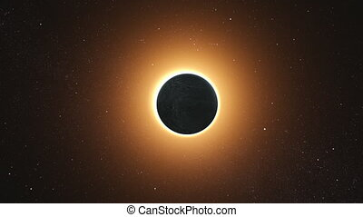 Solar Eclipse by a Lunar event with Ring of Fire