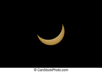 Solar Eclipse in Dallas, Texas August 2017