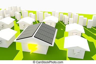 Solar Enengy Concept