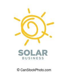 Solar Energy Alternative Symbol