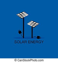 solar energy concept idea