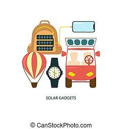 Solar energy eco.