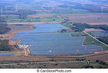 Solar Energy Farming