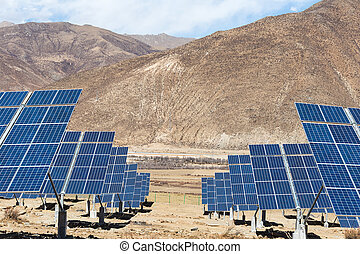 solar energy in tibetan plateau