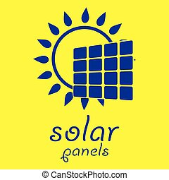 Solar Energy Logo Icon