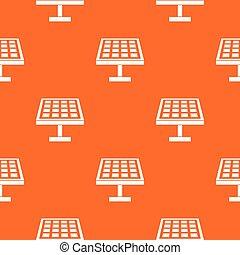 Solar energy panel pattern seamless