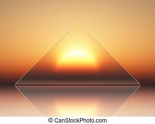 solar energy - conceptual view of solar energy