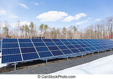 Solar energy power station
