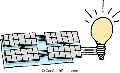 Solar energy / Renewable idea