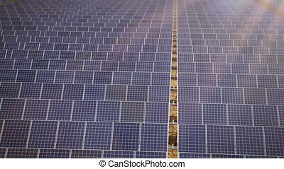 Solar Energy - Solar panels animation. (four sequences)