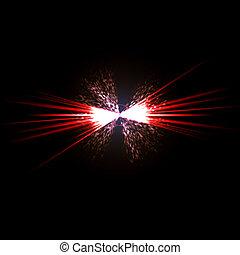 Solar Flare Star Burst