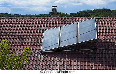 Solar heat collector