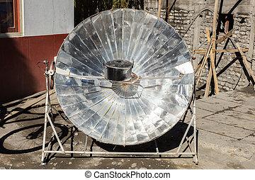 solar heater, Himalayas
